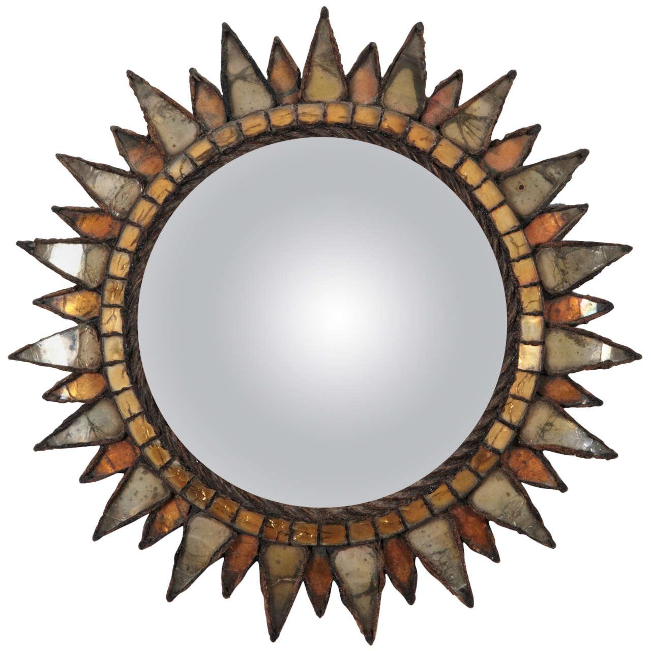 Line vautrin sun mirror no 3 soleil pointes n 3 for for Miroir line vautrin