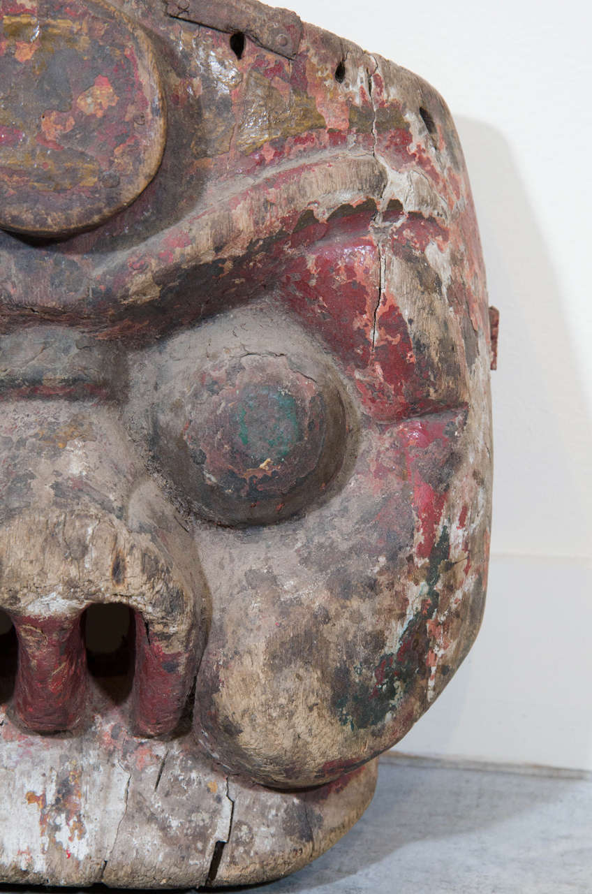 19th Century Chinese Mask For Sale 1