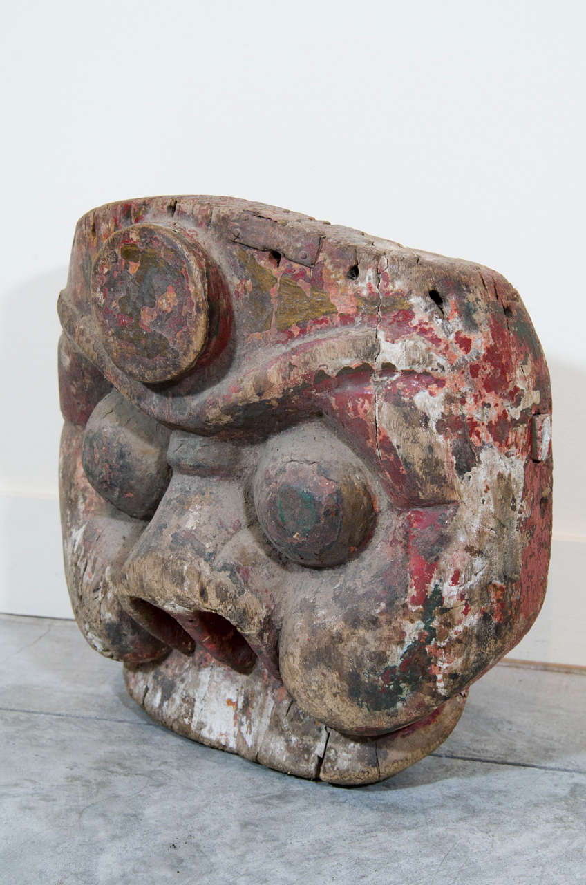 19th Century Chinese Mask For Sale 2