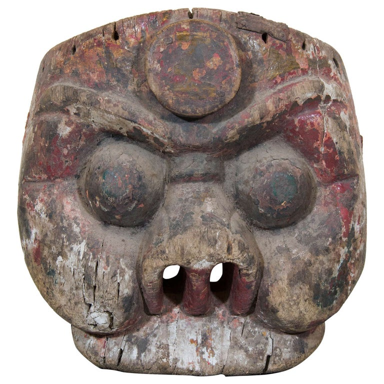 19th Century Chinese Mask For Sale