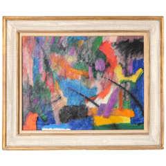 'Rainbows End' Oil on Canvas by Bernard Pfriem