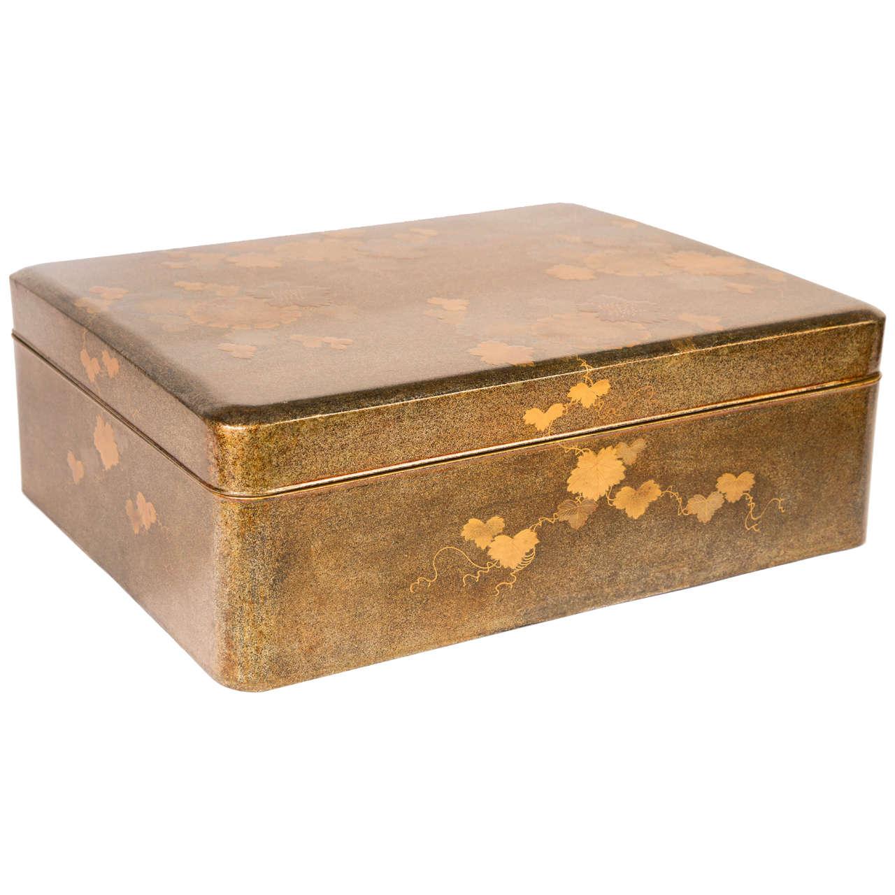19th Century Japanese Lacquer Paper Storage Box Ryoshi Bako 1  sc 1 st  1stDibs & 19th Century Japanese Lacquer Paper Storage Box Ryoshi Bako at ... Aboutintivar.Com