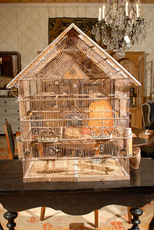 19th century french birdcage at 1stdibs for 19th century french cuisine