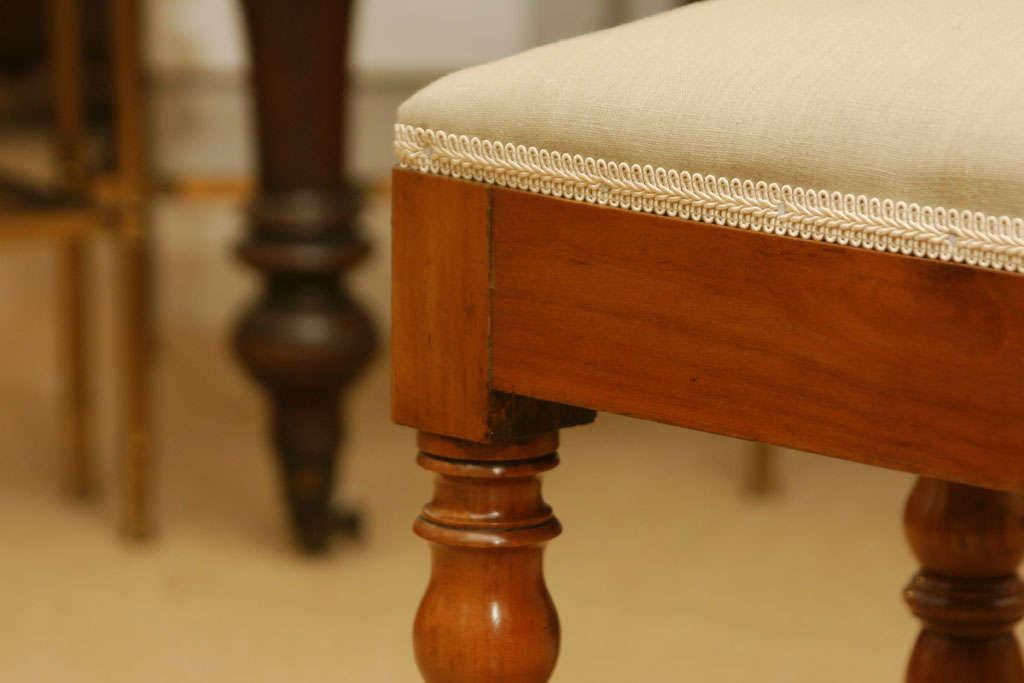 19th Century Cherrywood Footstool At 1stdibs
