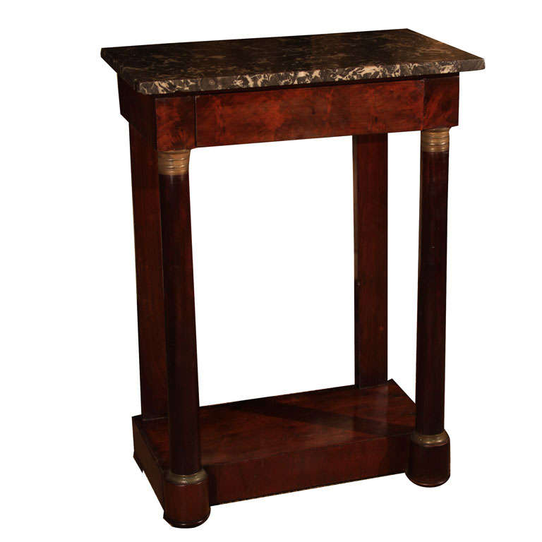 petite empire console at 1stdibs. Black Bedroom Furniture Sets. Home Design Ideas