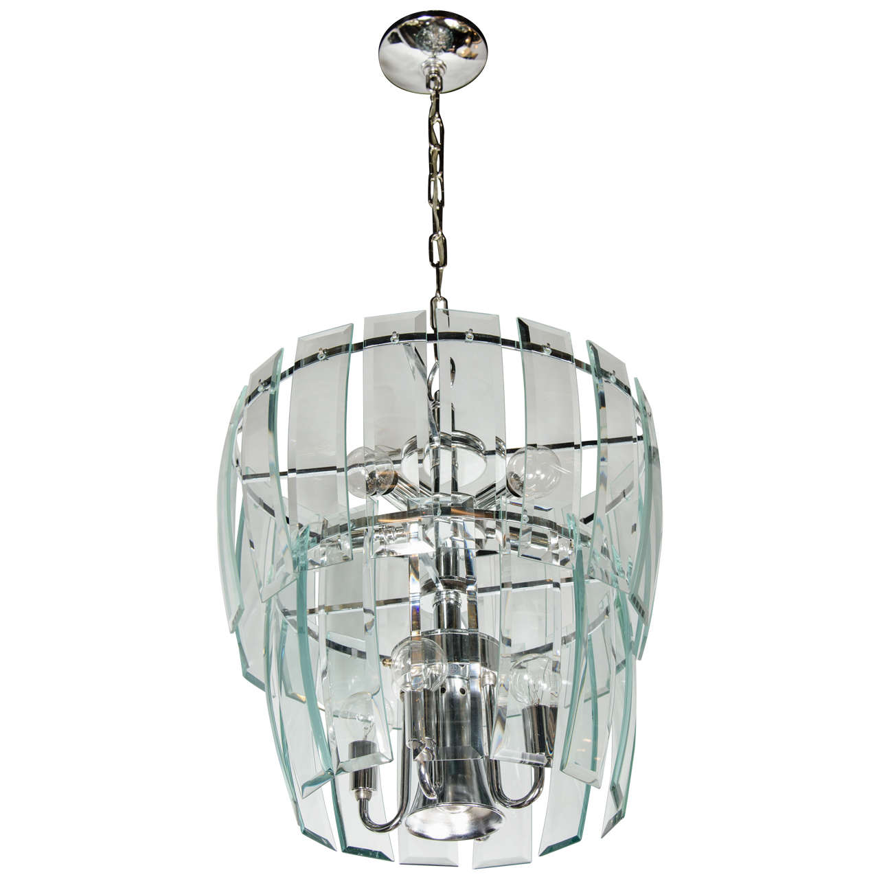 Beveled Glass Chandelier 28 Images Mid Century