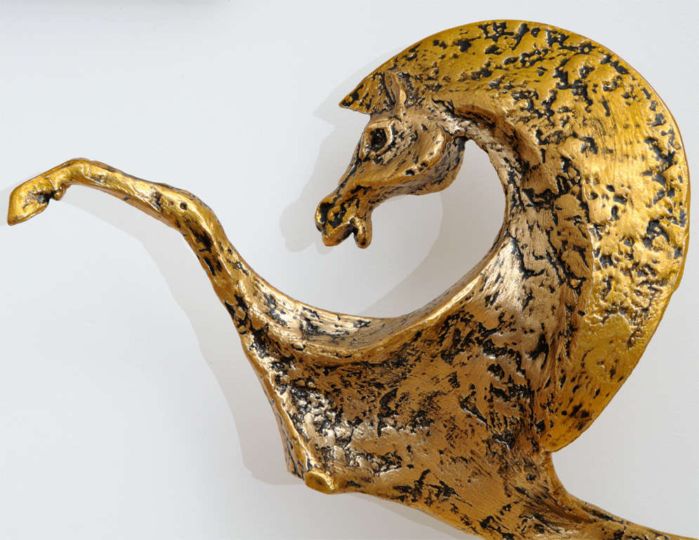 Mid Century Bronze Horse Sculpture image 6