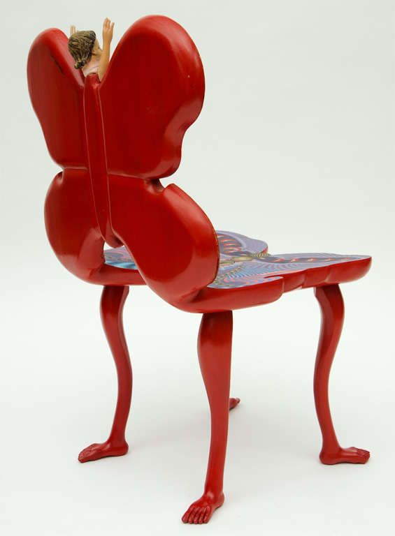 Pedro Friedeberg Mano Mariposa Chair For Sale 3