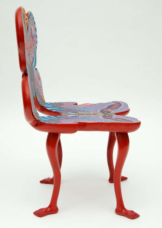 Pedro Friedeberg Mano Mariposa Chair For Sale 4