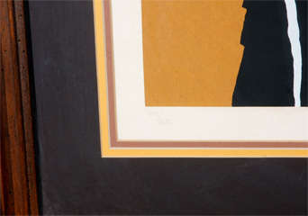 Abstract 1960's Lithograph image 3