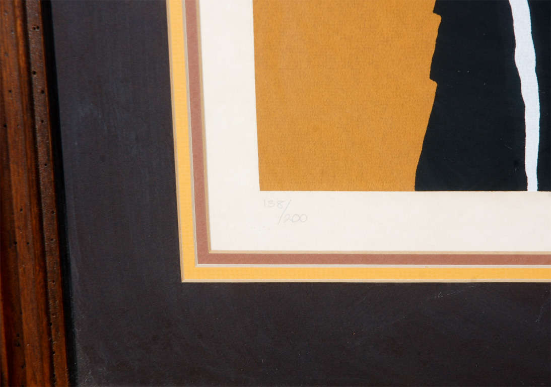 Abstract 1960's Lithograph 3