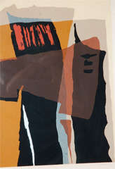 Abstract 1960's Lithograph image 2