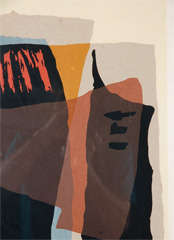 Abstract 1960's Lithograph image 7