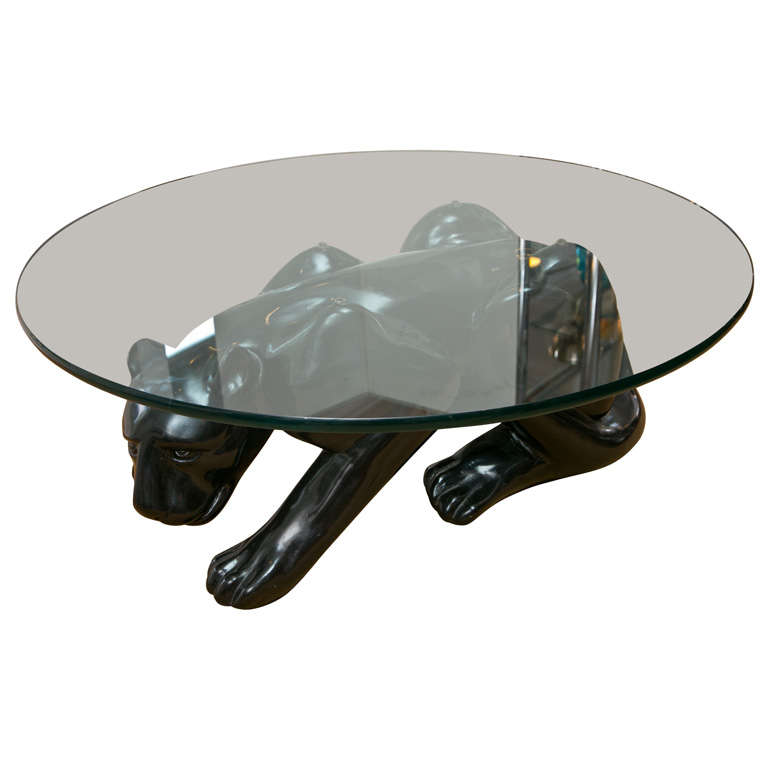 black panther cocktail table
