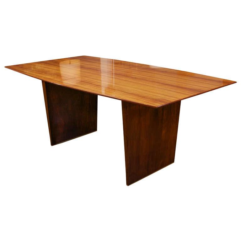 Dunbar Tawi Wood Dining Table