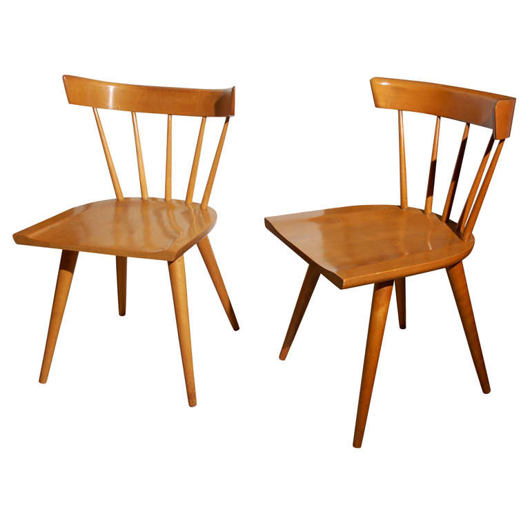 Four Paul McCobb Chairs at 1stdibs
