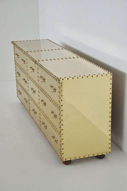 Sarreid Brass-Clad Dresser 2
