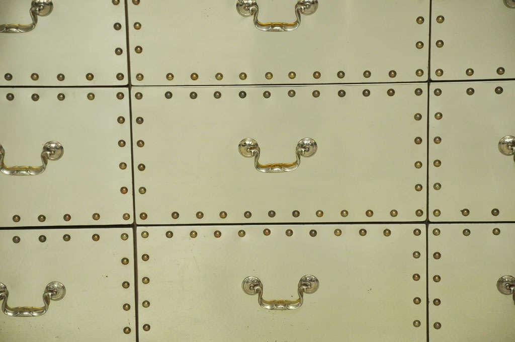 Sarreid Brass-Clad Dresser 4