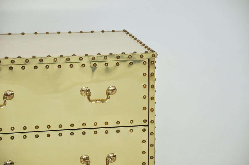 Sarreid Brass-Clad Dresser 5
