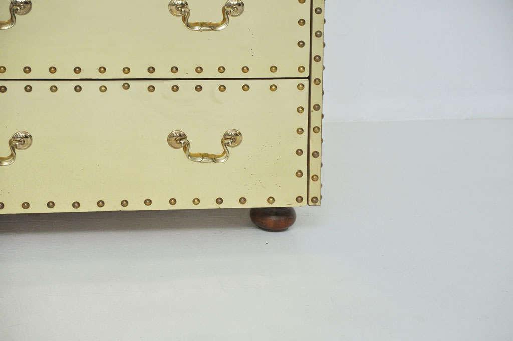 Sarreid Brass-Clad Dresser 6