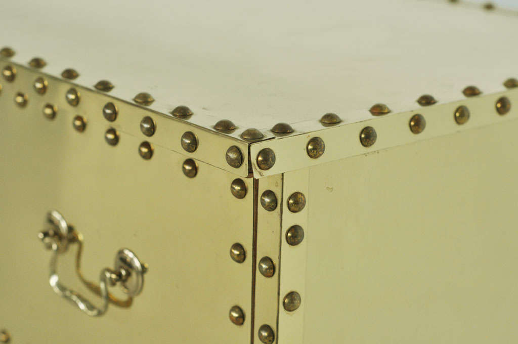 Sarreid Brass-Clad Dresser 8
