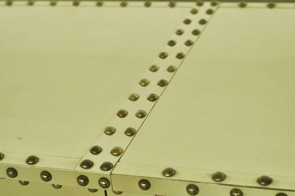 Sarreid Brass-Clad Dresser 9