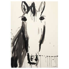 Horse Painting by Jenna Snyder-Phillips
