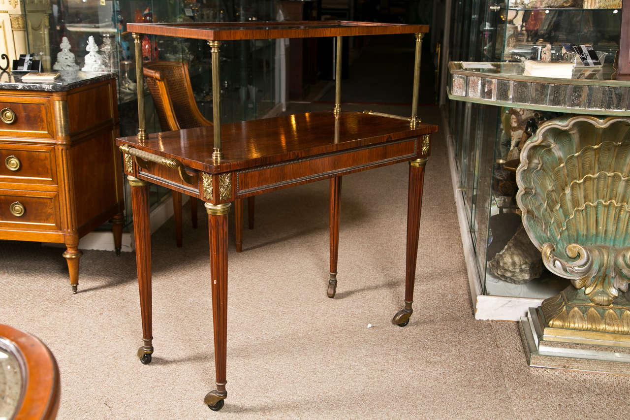 French Rosewood Serving Table 10