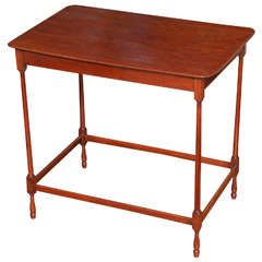 """Antique Chinese Chippendale Mahogany """"Spider Leg"""" Table, English, circa 1765"""