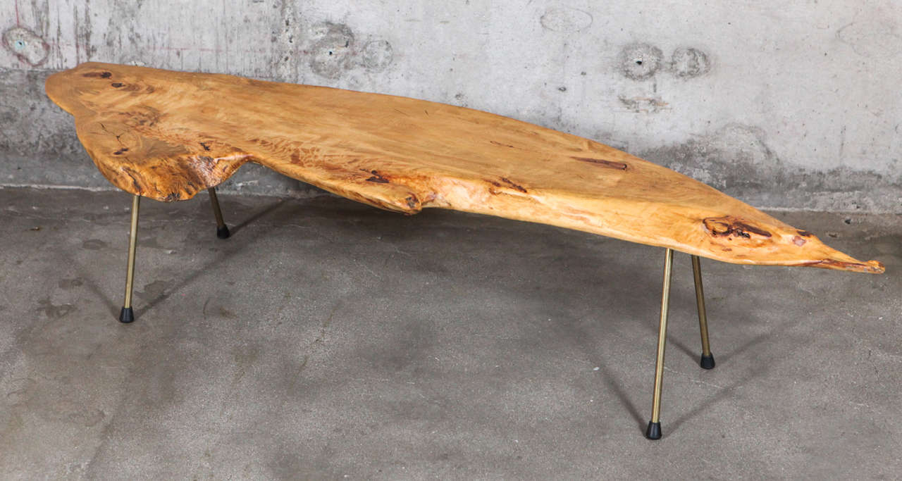 Carl Aub Ck Tree Trunk Table For Sale At 1stdibs