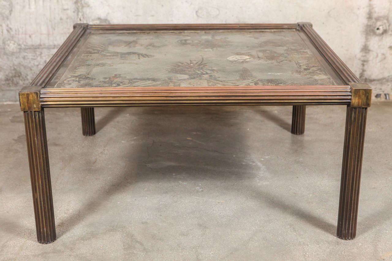 Bronze Philip and Kelvin LaVerne Table For Sale