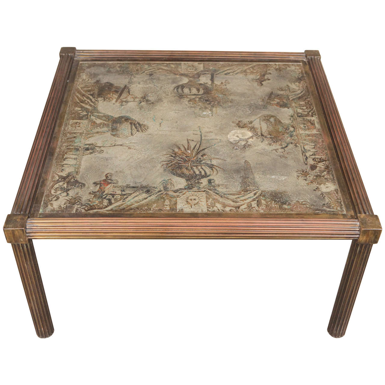 Philip and Kelvin LaVerne Table For Sale