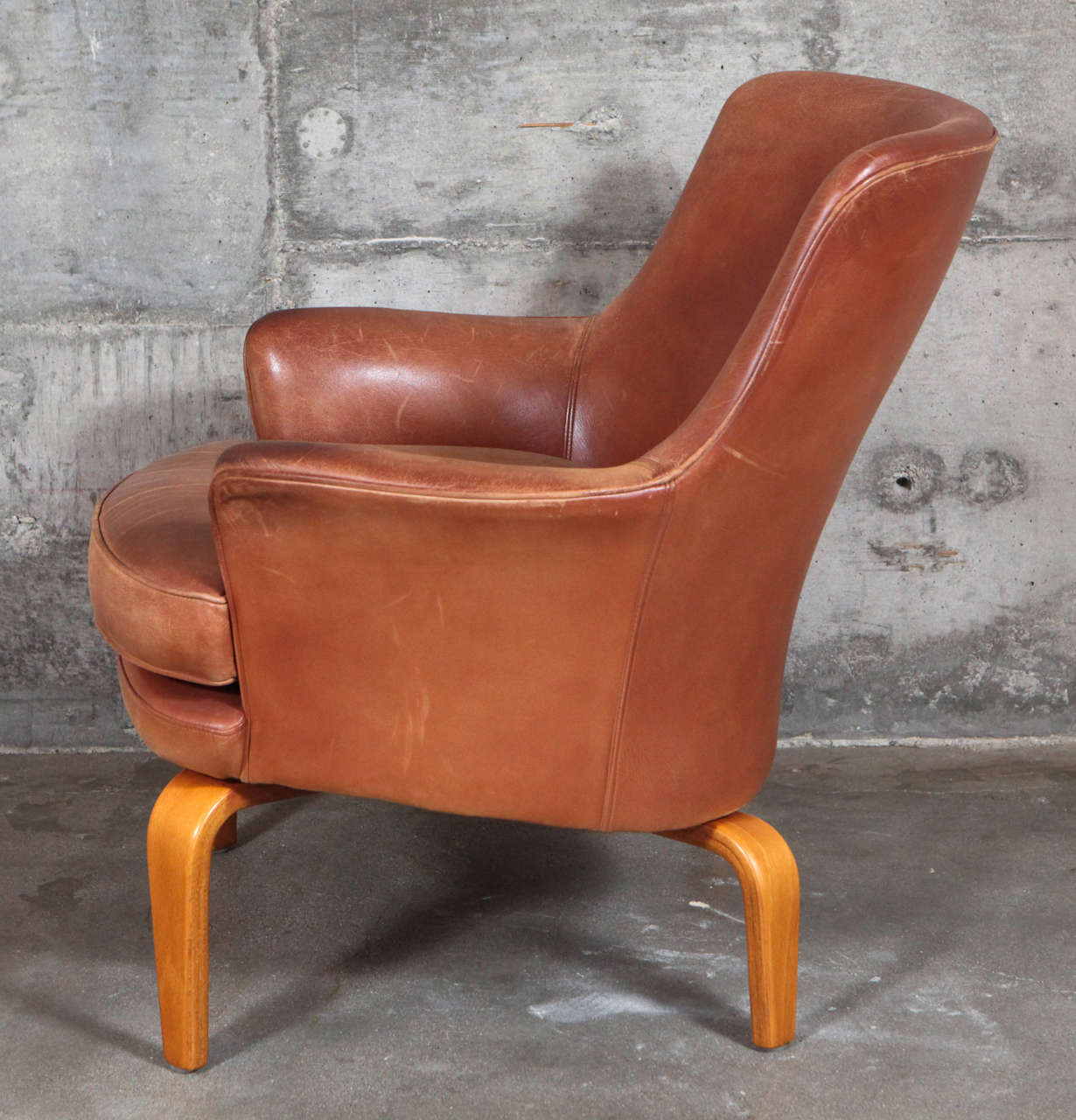 Pair of Arne Norell 'Pilot' Lounge Chairs 1