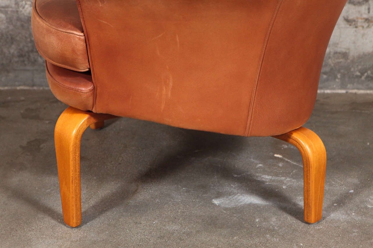 Pair of Arne Norell 'Pilot' Lounge Chairs 2