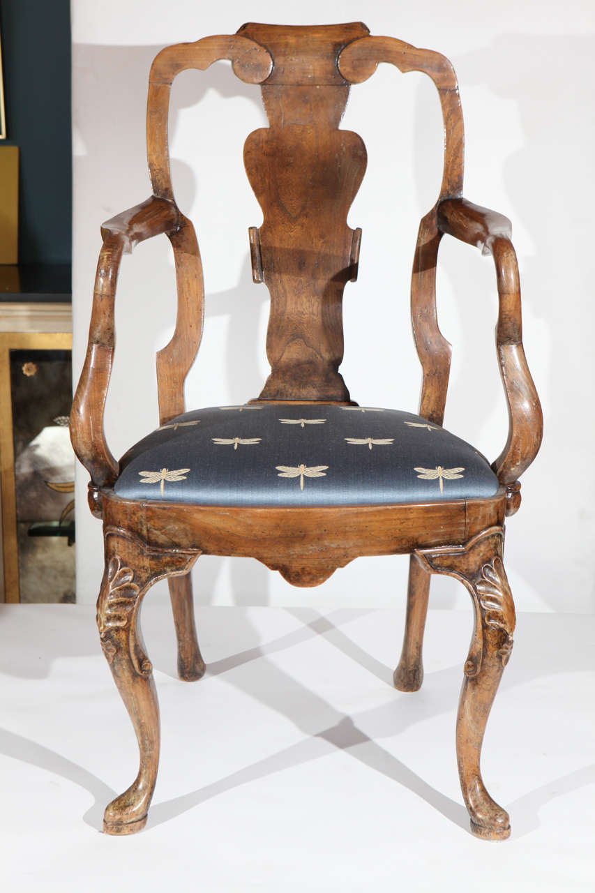 set of 12 queen anne dining chairs at 1stdibs
