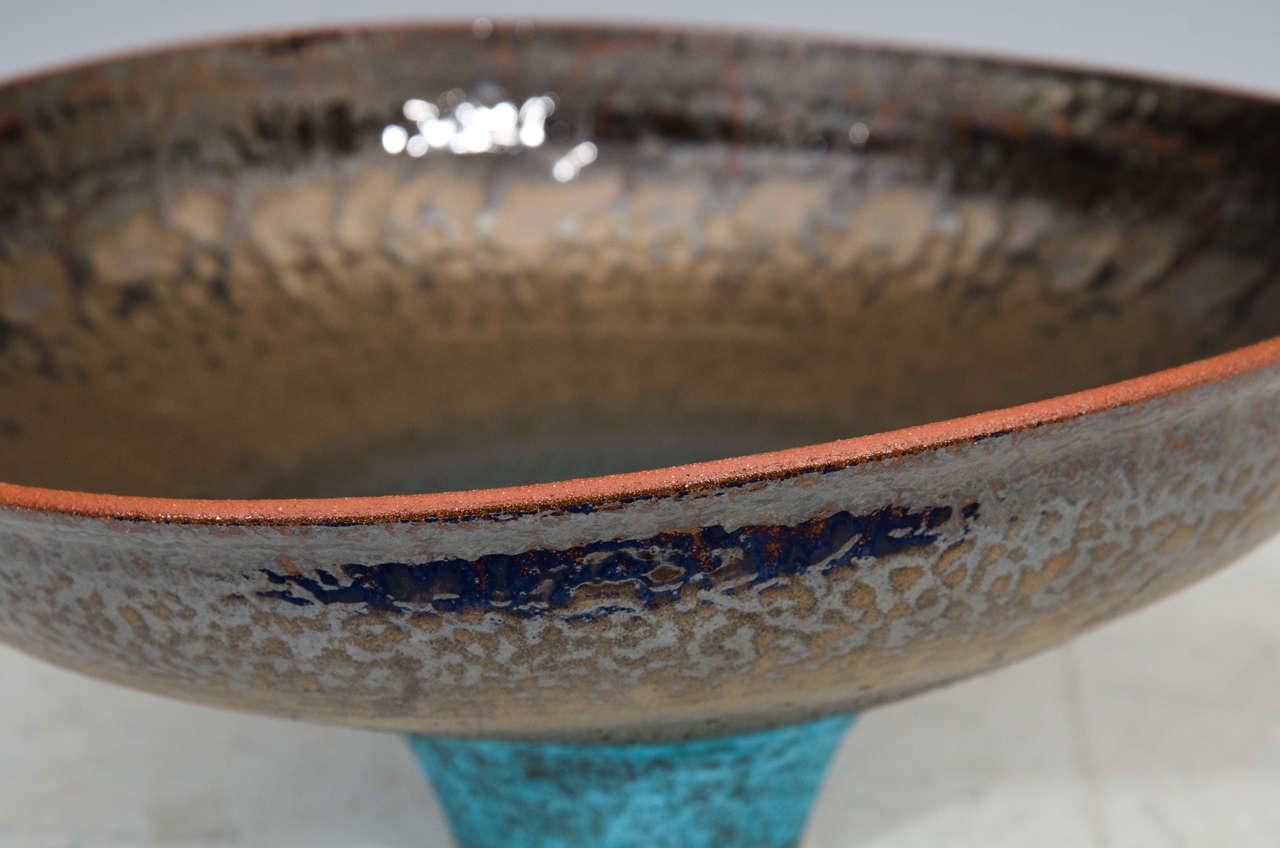 Monumental Studio Pottery Bowl by American Artist Jeremy Briddell 1