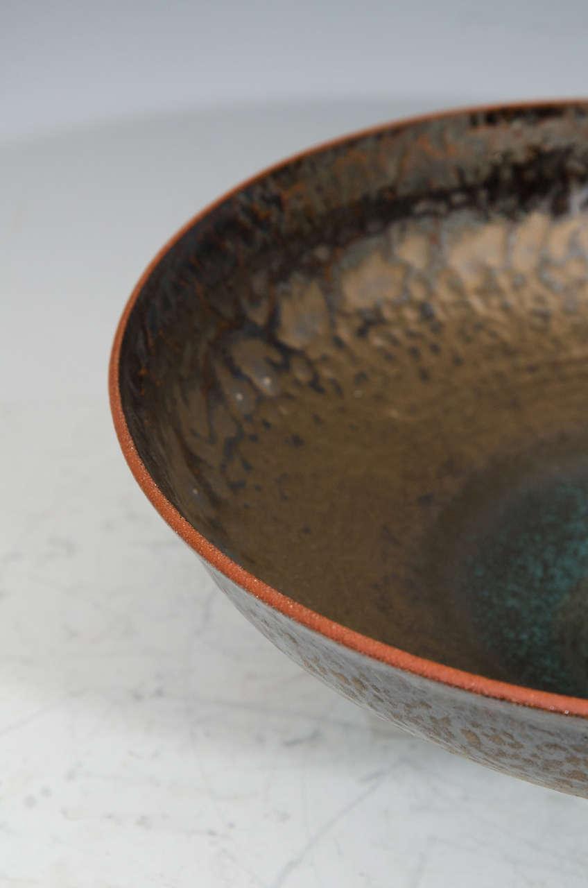Monumental Studio Pottery Bowl by American Artist Jeremy Briddell 2