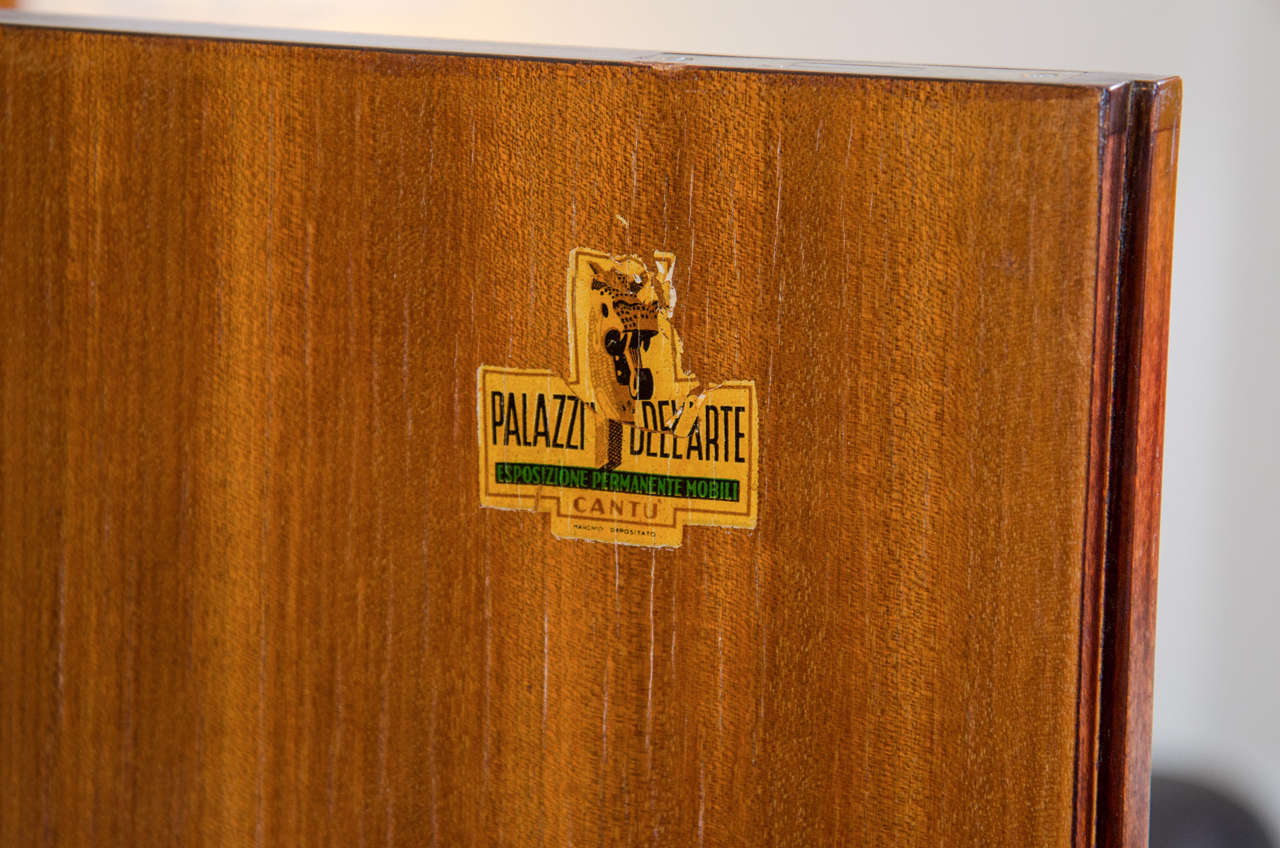 Bar Cabinet Attributed to Architect and Designer Paolo Buffa For Sale 2