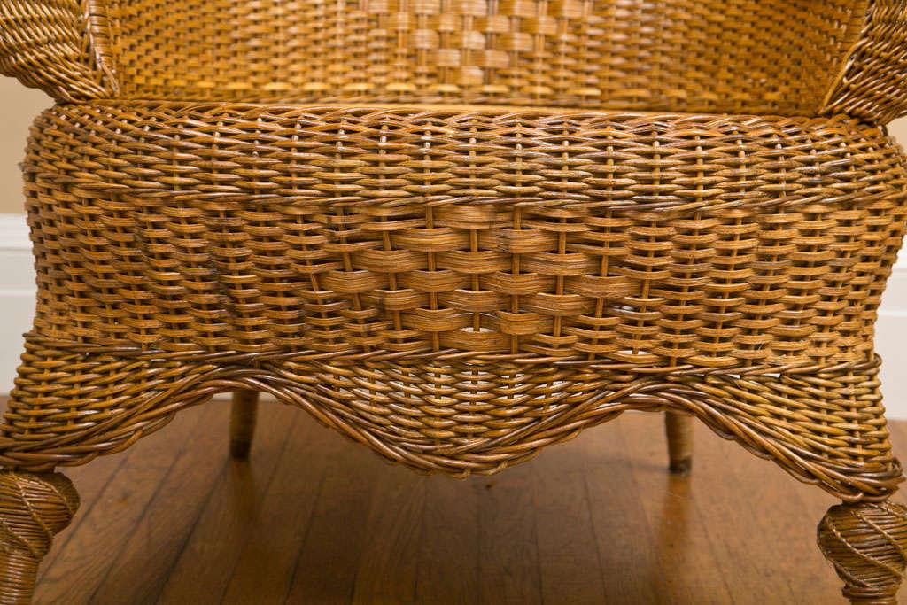 Victorian Wicker Chair 5