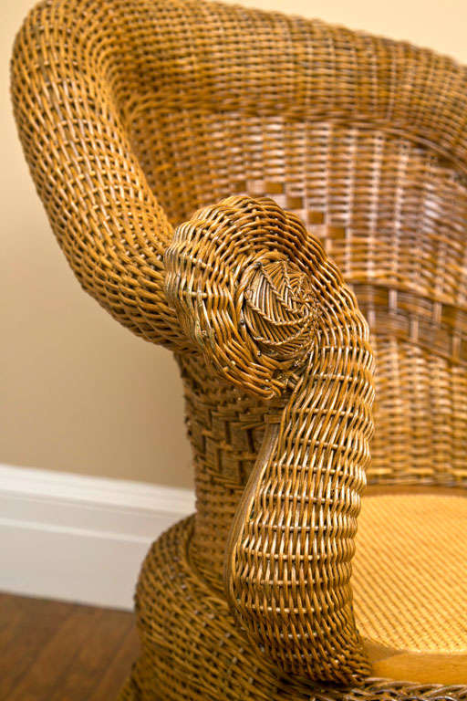 Victorian Wicker Chair 6