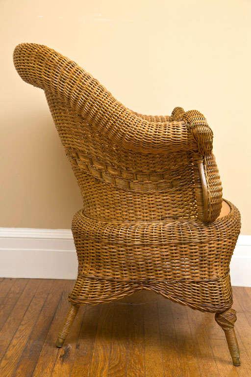 Victorian Wicker Chair 7