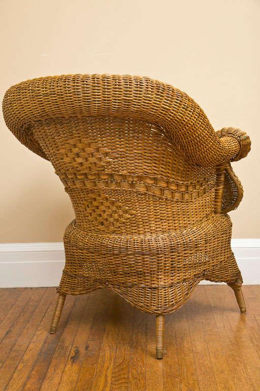 Victorian Wicker Chair 8