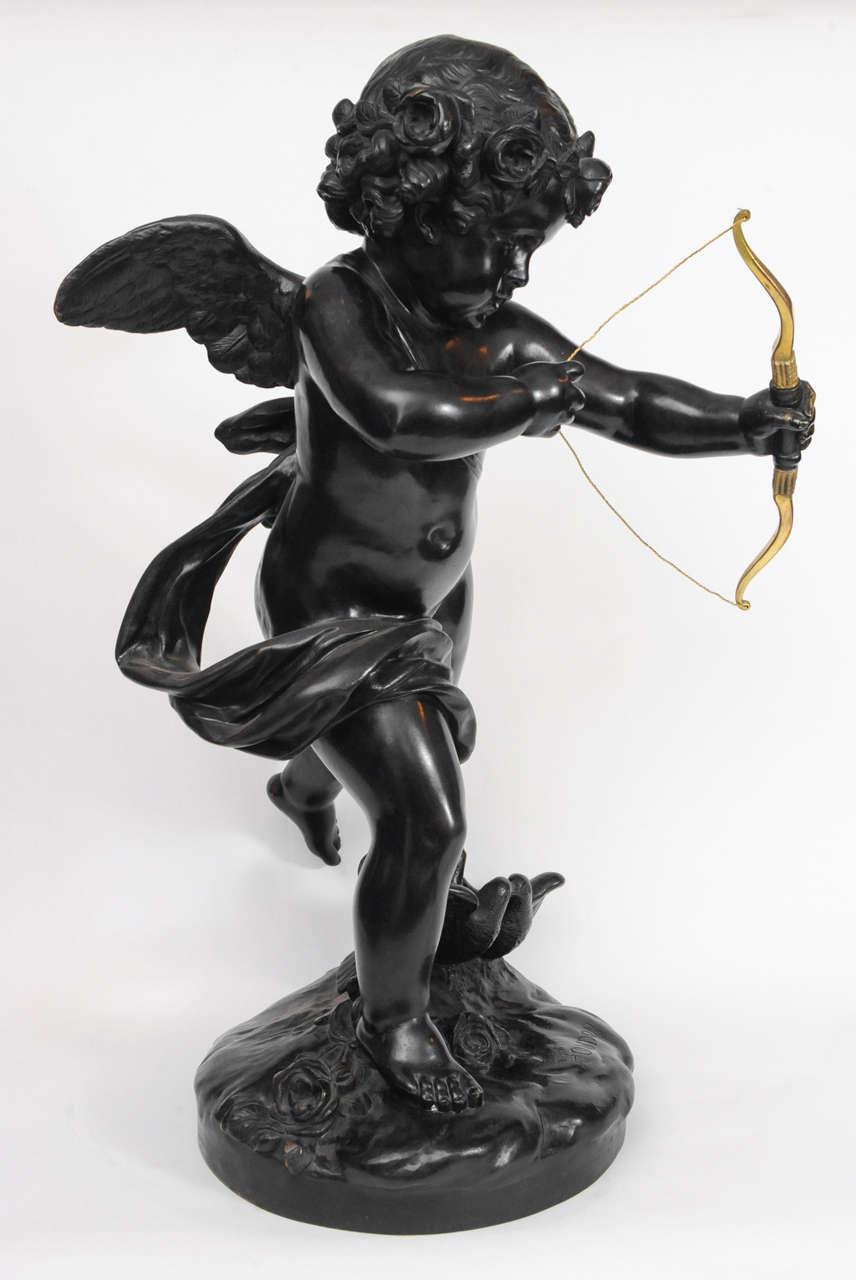 A French bronze sculpt...