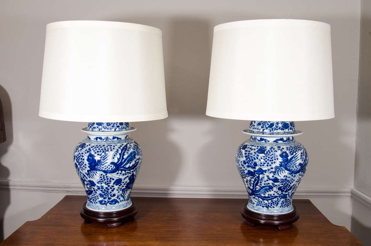 Blue And White Lamps 28 Blue White Ceramic Table Lamp In Hand ...