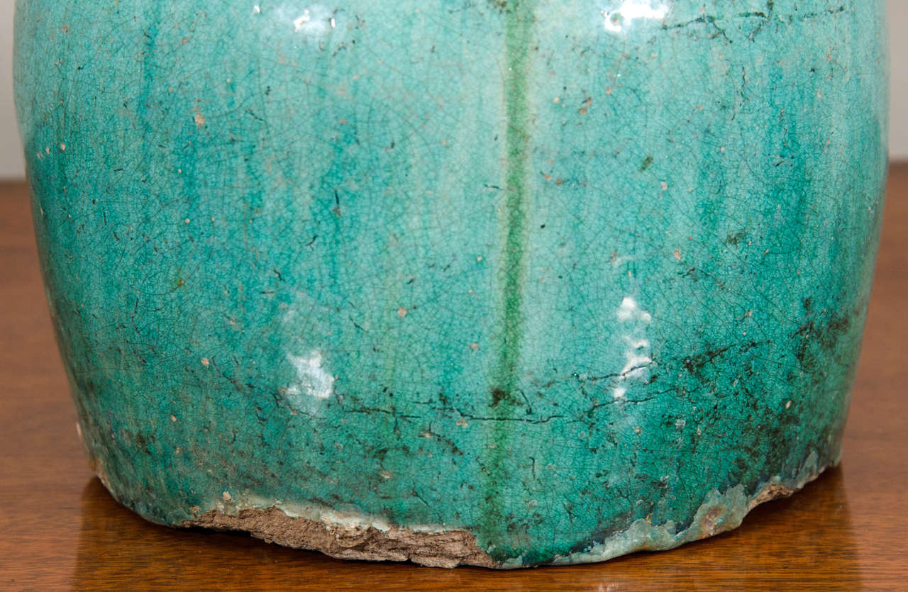 19th Century Chinese Earthenware Jar For Sale 1