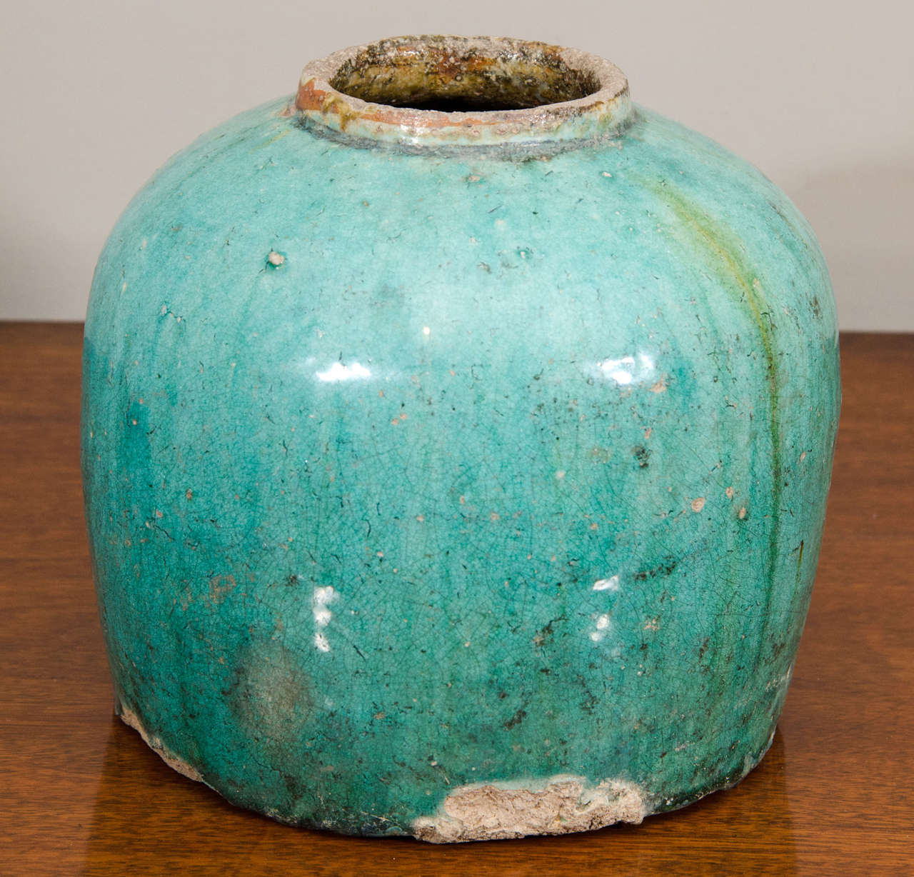 19th Century Chinese Earthenware Jar For Sale 3