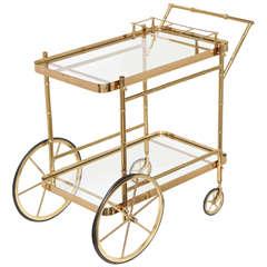 Bar Cart, Brass