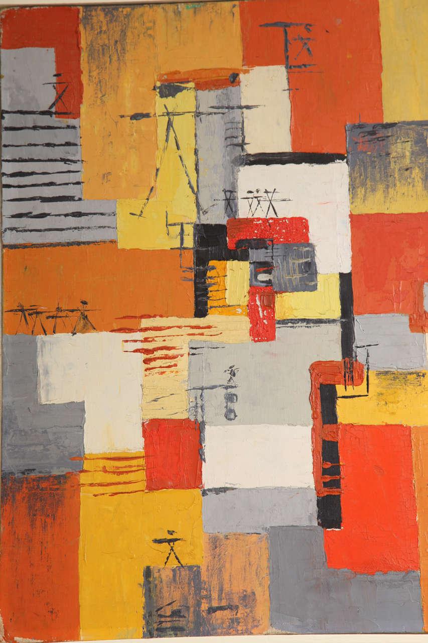 Painting, Modern, circa 1950 5