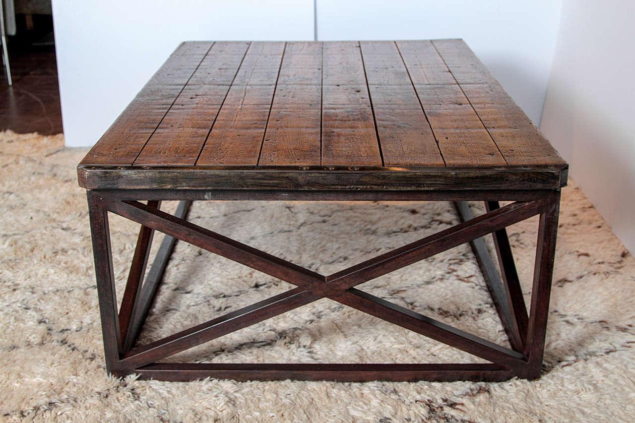 Brick Pallet Coffee Table At 1stdibs