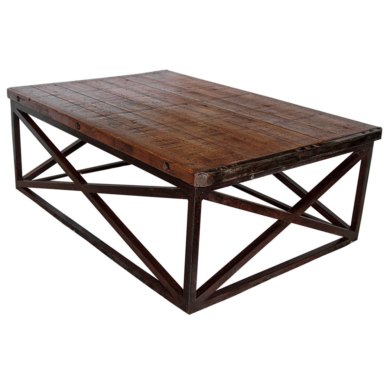 Brick Pallet Coffee Table At 1stdibs